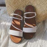 (全館一件免運)DE shop~(ZD-3366)涼鞋-韓系小清新簡約質感涼鞋-共2色