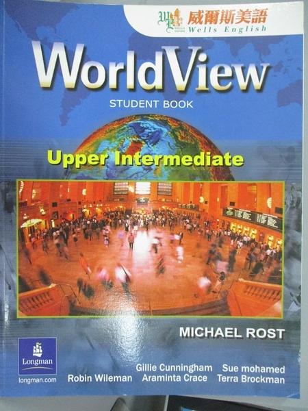 【書寶二手書T4/語言學習_XED】WorldView, Level 3_LONGMAN GROUP UK LIMITE