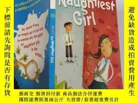 二手書博民逛書店here s罕見the naughtiest girl 這是最淘氣的女孩.., Y200392