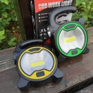 露營燈LED戶外野營照明燈手提應急燈COB新款工作燈2頭燈大功率投光燈 【快速出貨】