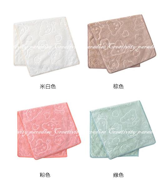 【小熊毛巾】兒童款 400g重平方加厚版韓國神奇超細纖維十倍吸水美容巾(比普通毛巾快10倍)