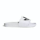 Adidas ADILETTE LITE 男 黑白 三葉草 運動 休閒 拖鞋 FU8297
