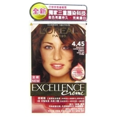 巴黎萊雅  L Oreal 新版優媚霜三重護髮染髮霜 #4.45 紅銅棕色(148ml)
