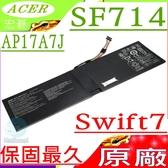 ACER AP17A7J 電池(原廠)-宏碁 Swift 7電池,SF714電池,SF714-51T電池,SF714-51T-M1K6,SF714-51T-M2BC