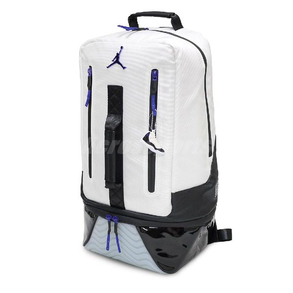 Nike 後背包Air Jordan Retro 11 Concord Backpack 白藍男女款大容量11代手提運動包包 PUMP306   9A1971-637 4ad73acd70