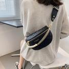 腰挎包 今年流行包包高級感2021新款時尚腰包百搭ins鏈條斜挎包女夏胸包 ww