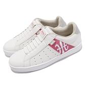 Royal Elastics 休閒鞋 Icon 白 粉 女鞋 刺繡LOGO 懶人鞋 套入式 【ACS】 91912018