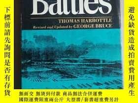 二手書博民逛書店dictionary罕見of battles(戰鬥詞典)英文原版Y15270 英文原版 出版1971