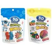 TOY CLUB 5D機器人/積木 造型軟糖(64g) 款式可選【小三美日】進口零食/團購/零嘴