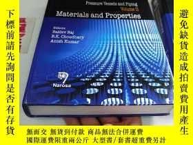 二手書博民逛書店Pressure罕見Vessels and Piping Volume 2 Materials and Prope