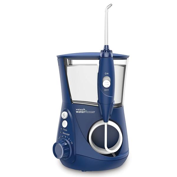 [107美國直購] 沖牙機 藍色 Waterpik ADA Accepted WP-663 Aquarius Water Flosser