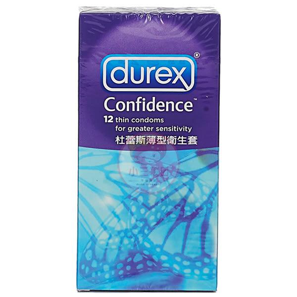 Durex 杜蕾斯 薄型衛生套(12入)【小三美日】保險套