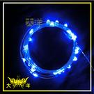 ◤大洋國際電子◢ USB 5V 防水型 銀絲燈 (50燈 5M) 藍光 裝飾 氣氛燈 牌照燈 車底燈 招牌 1283-B-5