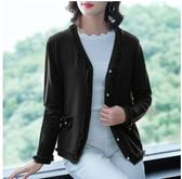百搭上衣M-3XL/6976秋裝新款時尚寬鬆流蘇款開衫外套打底衫H326-B1號公館