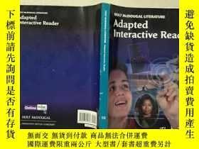 二手書博民逛書店Adapted罕見Interactive Reader 10Y332659