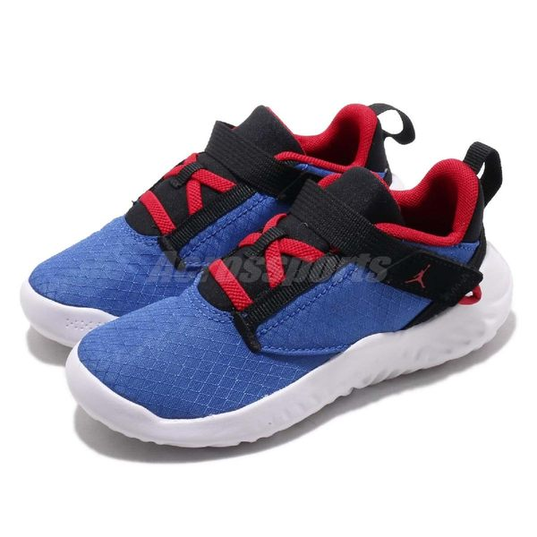 Nike 慢跑鞋 Jordan Proto 23 TD 藍 紅 緩震中底 運動鞋 休閒鞋 童鞋 小童鞋【PUMP306】 AT5713-401