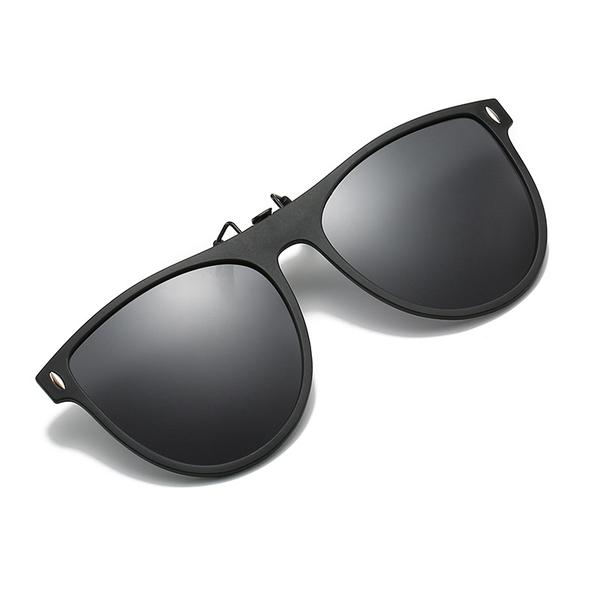 加大黑框眼鏡夾片 AL-2021 可上翻墨鏡夾片