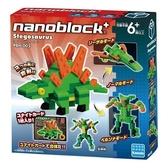 【日本 Kawada 河田】Nanoblock 迷你積木 劍龍 PBH-005