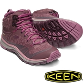 KEEN 1019876酒紅/紫紅 Terradora Mid女戶外防水登山鞋 運動健行鞋/多功能鞋/郊山健走/越野慢跑鞋