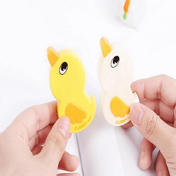 黃色小鴨修正帶-3入1組