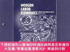 二手書博民逛書店Study罕見Guide to Accompany Modern Labor Economics: Theory