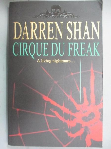 【書寶二手書T1/原文小說_LID】Cirque Du Freak_ Darren Shan Book 1_Shan, Darren