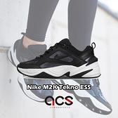 Nike 休閒鞋 Wmns M2K Tekno ESS 黑 白 銀 女鞋 老爹鞋 運動鞋【ACS】 CJ9583-001