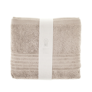 HOLA 土耳其典雅素色浴巾-亞麻78x140cm