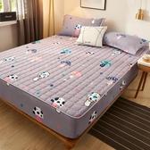 夾棉床笠單件加厚透氣床罩套席夢思保護套床套床墊套防水塵罩全包 名購新品