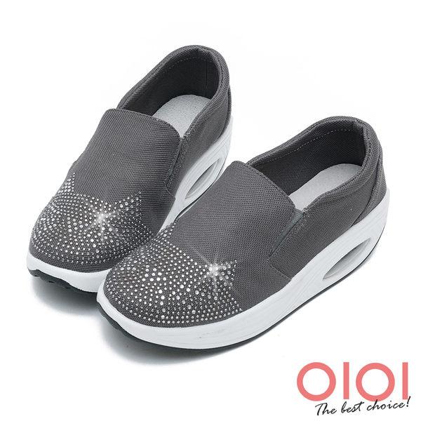 搖搖鞋 趣味貓咪鑽飾氣墊搖搖鞋(灰)*0101shoes【18-619gy】【現貨】