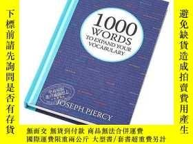 二手書博民逛書店1000罕見Words to Expand Your Vocabulary 英文原版 英國地道英文詞匯拓展系列:1