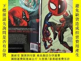 全新書博民逛書店MarvelSpider-Man Deadpool Vol. 1:Isn t it Bromantic 漫威蜘蛛俠