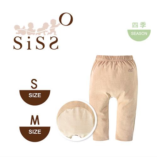 【SISSO有機棉】有機棉嬰兒彈性屁屁褲(咖色) S~M