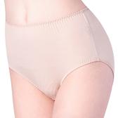 思薇爾-單品褲系列L-XXL素面高腰三角內褲(麥膚色)