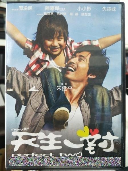 挖寶二手片-Y63-043-正版DVD-華語【新天生一對】-周渝民 ELLA 小小彬