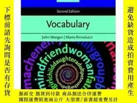 二手書博民逛書店Resource罕見Books for Teachers: Vocabulary Second Edition 教
