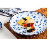 【Royal Duke】日本製8吋餐盤/圓盤-鶴唐草(日式和風)