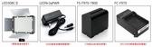【Godox LED308C II + 桌燈腳架 + 交流電供電器 AC 】 kit  308顆可調色溫LED燈