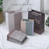 禮袋大號禮品袋 創意禮物包裝袋子 生日回禮袋子送禮服裝手提袋紙袋子-凡屋