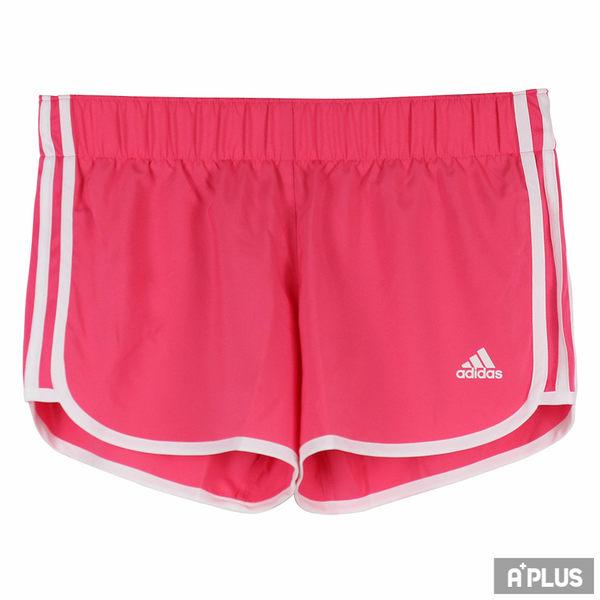 Adidas 女 M10 WOVEN SHORT  慢跑短褲- CD3223