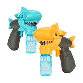 新式連續不間斷鯊魚張嘴電動泡泡槍(音效+LED燈光)【888便利購】