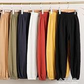 棉麻燈籠褲女2020年新款夏季寬鬆亞麻九分哈倫哈倫褲薄款休閒褲子【小艾新品】