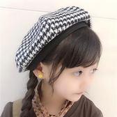 韓版兒童貝雷帽女童南瓜帽小女孩復古毛呢畫家帽日系蓓蕾帽潮『新佰數位屋』