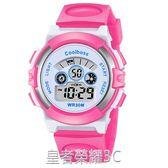 兒童手錶男孩女孩男童電子錶中小學生夜光防水可愛小孩女童手錶 皇者榮耀