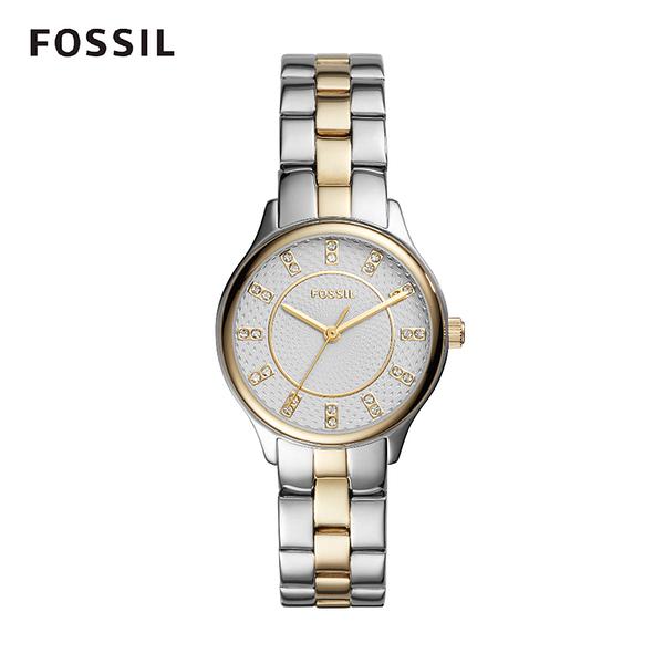 FOSSIL Modern Sophisticate雙色不銹鋼女錶 36mm BQ1574