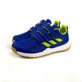 中童ADIDAS Altarun CF K 藍 魔鬼氈透氣膠底慢跑鞋 《7+1童鞋》7270 藍色