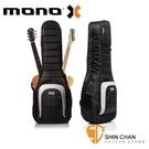 mono 琴袋 | 美國MONO M80 Dual 2A 新款/雙支吉他袋 吉他袋-軍事化防震防潑水 【M80 2A-BLK】(一電/一木)