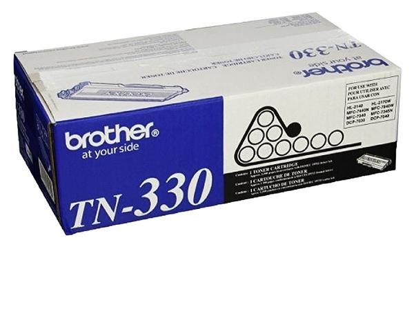 TN-330 brother 原廠黑白雷射專用碳粉匣 (可列印1500頁) 適用 HL-2140,HL-2170W,DCP-7030,DCP-7040,MFC-7340
