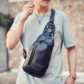 新款胸包男休閑韓版男士包包單肩包商務斜挎包潮包戶外運動腰包WL3365【衣好月圓】