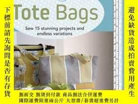 二手書博民逛書店The罕見Build a Bag Book: Tote Bags